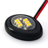 AM-OB-x6: AM series Miniature Oval Accent Light - Black