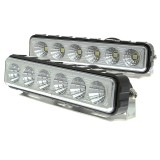 DRL-CW6-BM: LED Daytime Running Light Kit - Bottom Mount
