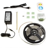 NFLSK-DW600-VCT: Variable Color Temperature Flexible Light Strip Kit with RF Touch Remote