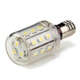 E12-x21: Candelabra LED Bulb, 21 High Power LEDs