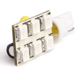 WLED-AHP6-RAC-DI: 194 LED Bulb - 6 SMD LED Wedge Base RAC
