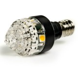 E12-xWHP3: Candelabra LED Bulb, 3 LED