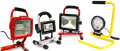 Portable Work Lights and Bulbs